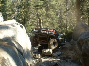 My Truck Rock crawling