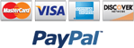 Payments accepted via PayPal