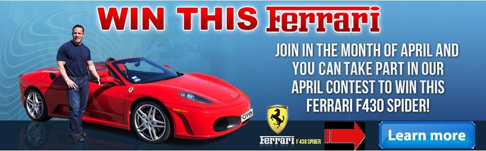 Win a Free Ferrari